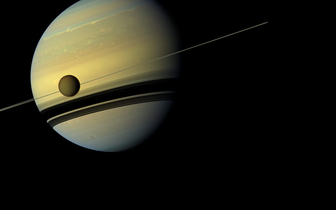 saturn_titan_cassini1920x1200